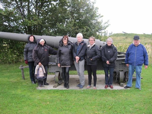 Arkivets medarbejdere på udflugt til Slipshavn oktober 2015