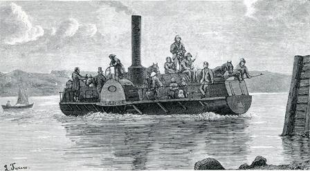 Fritz Juel. Tegning i Illustreret Tidende 1873.
