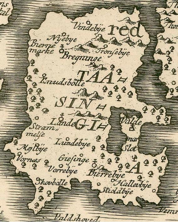 kort over svendborg
