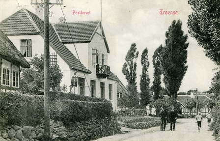 Troenses nye posthus Strandgade 29.